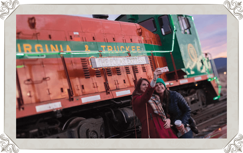 V&T Railway Polar Express takes passengers on a journey to the North Pole