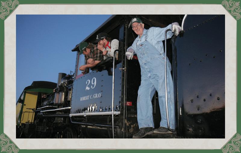 "Melodrama Train Ride, ""Train to Danger!"""