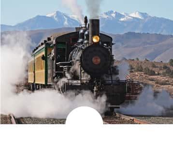 V&T Railway Steam Train Rides