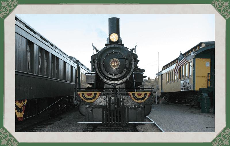 V&T railway depot engine 29