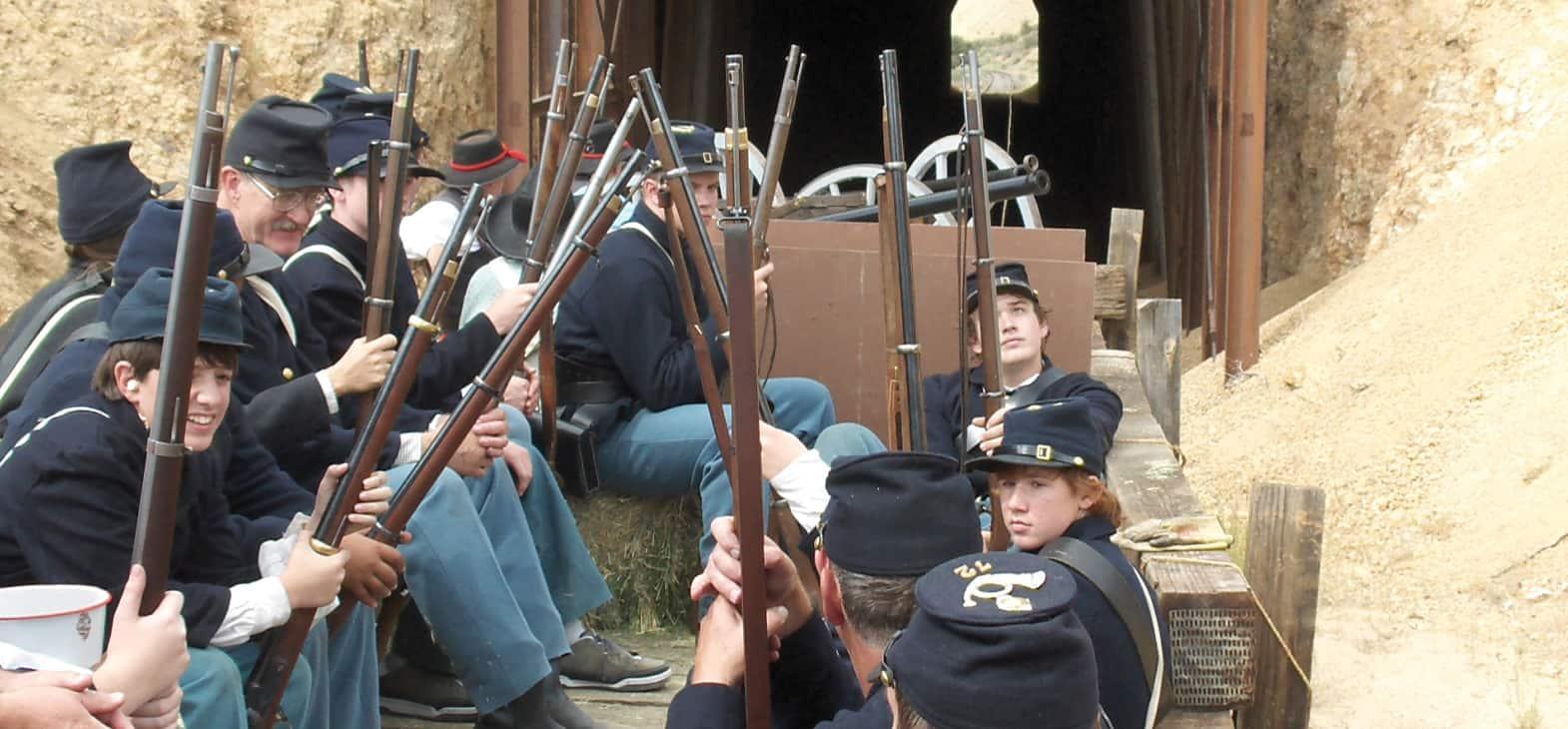 V&T Railway Virginia city to Gold hill Steam Engine reenactment