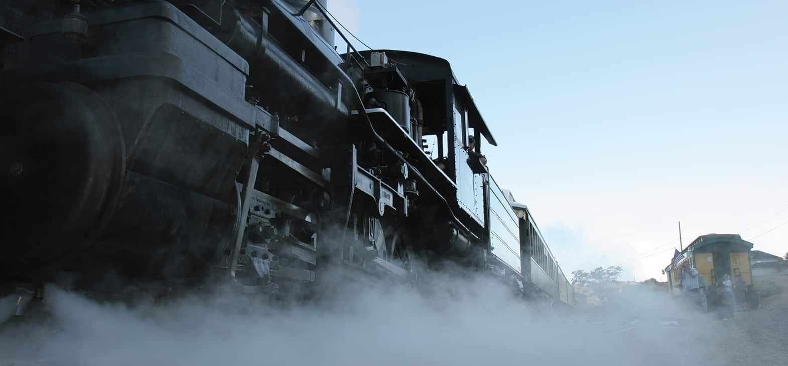V&T Railway Virginia city to Gold hill Steam Engine