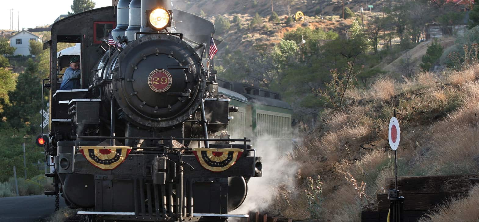 V&T Railway Carson City to Virginia City