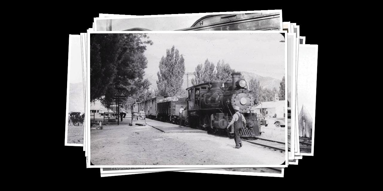 Carson City depot historical photo