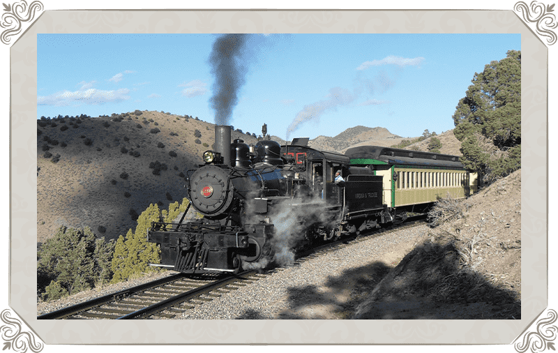 See the Wild West as you ride these historic rails (tickets go fast)