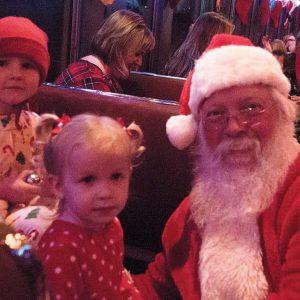 V&T Railway The Polar Express train ride Santa claus