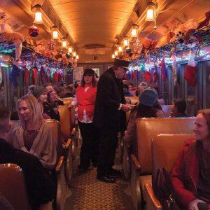 V&T Railway The Polar Express train ride