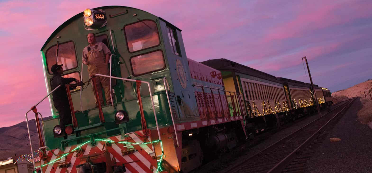 V&T Railway The Polar Express Train