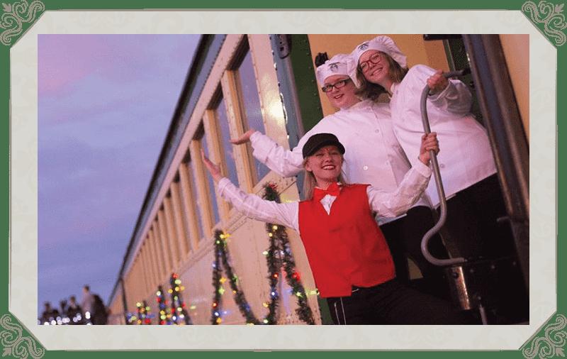 V&T Railway The Polar Express Crew