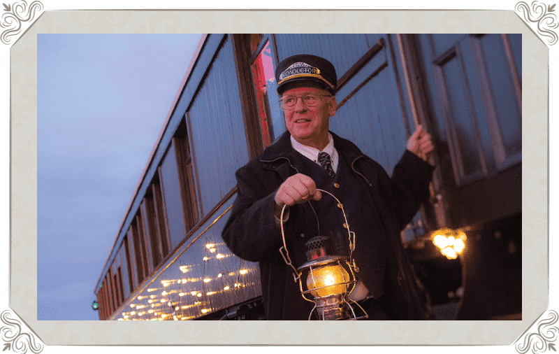 V&T Railway The Polar Express Conductor