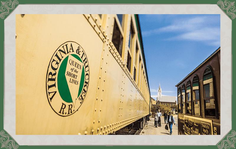 V&T Railway Virginia city Depot