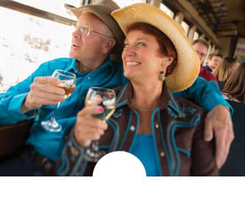 V&T Railway Toast of the canyon couples
