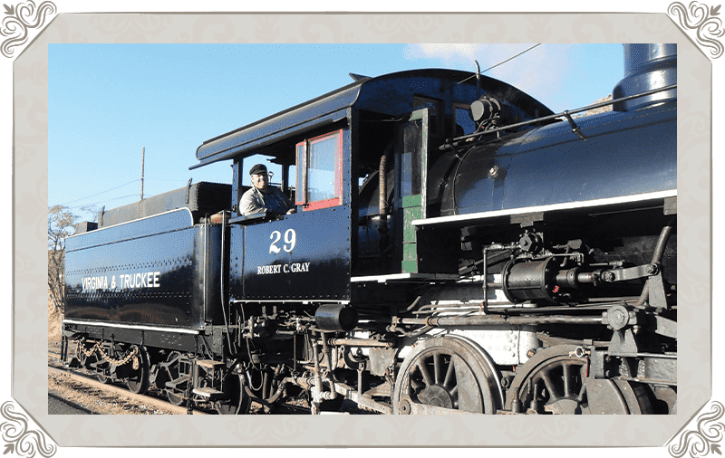 V&T Railway diesel engine 29